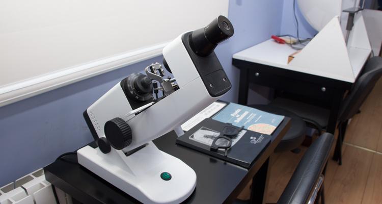 Maquinaria para exámenes médicos